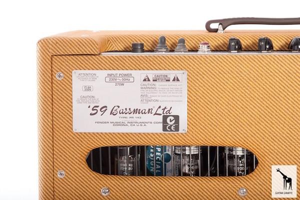 Fender Bassman 59 ltd